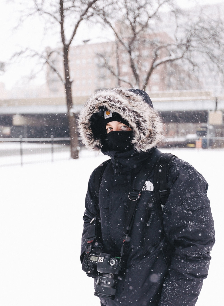 portrait, snow, winter, cold - kyleniego | ello