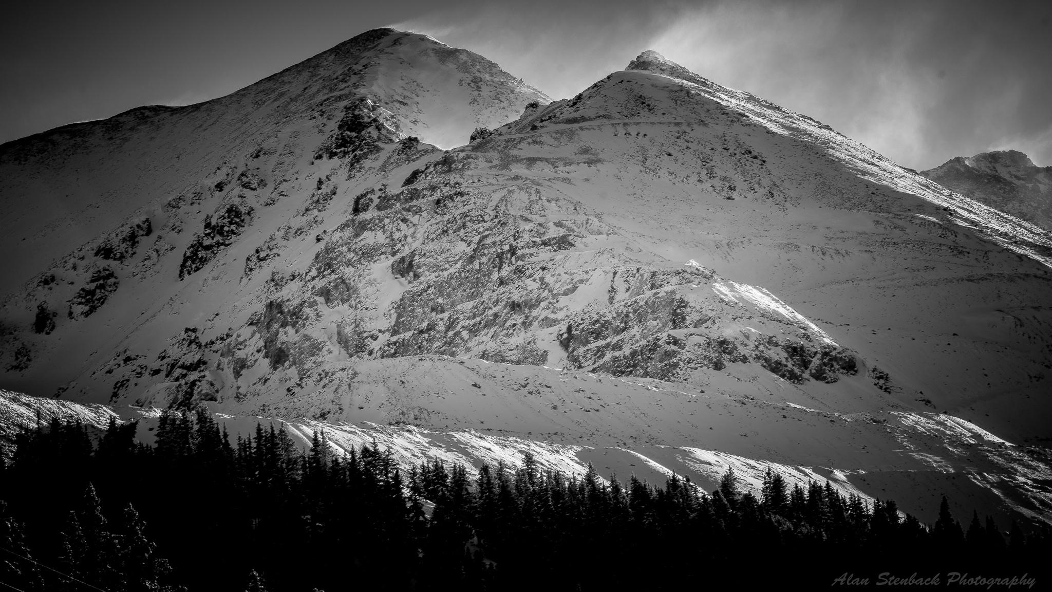wind swept summits McNamee Peak - astenback | ello