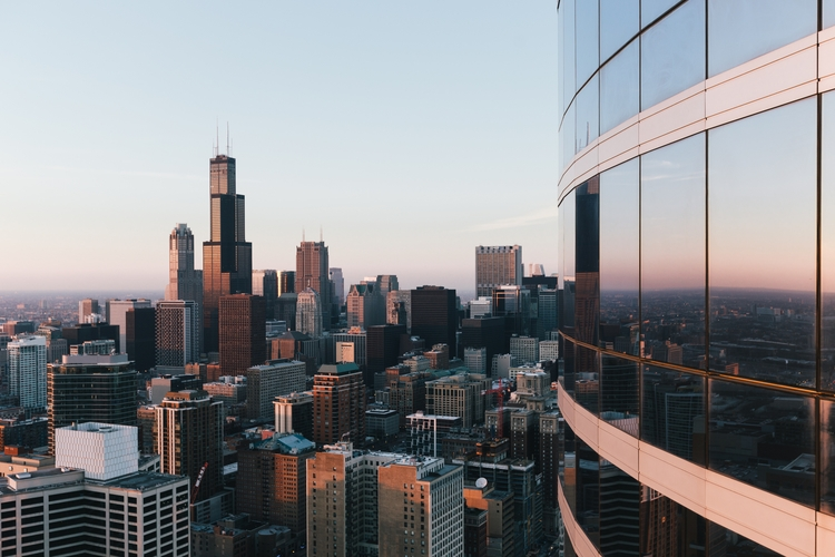 Chicago sunrise - sunset, goldenhour - kyleniego | ello