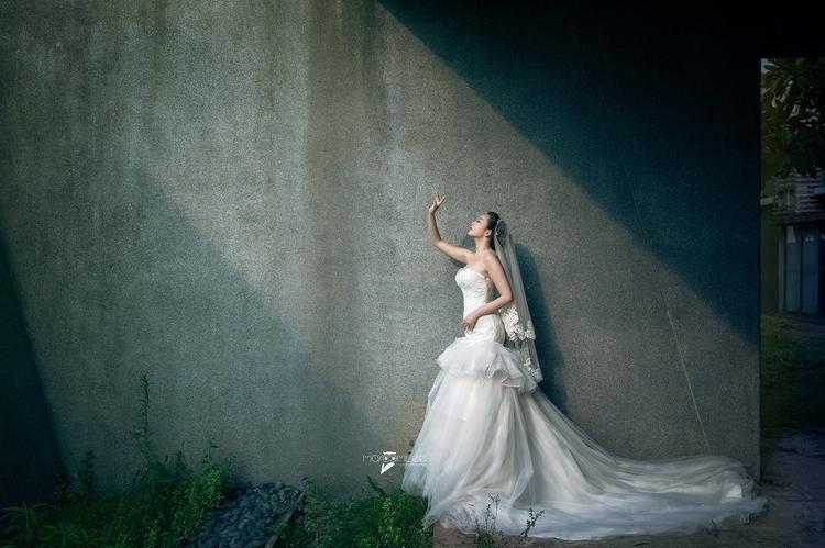 [婚紗創作 Pre-wedding] 這麼美的自然光不用嗎?除 - marccmlee | ello
