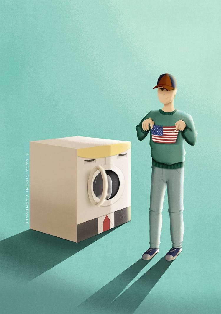 America small - Personal projec - saragironicarnevale | ello