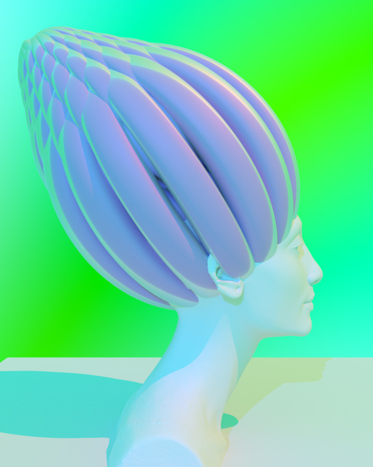 crown - research, 3D, colors, imagination - siegfriedwv | ello