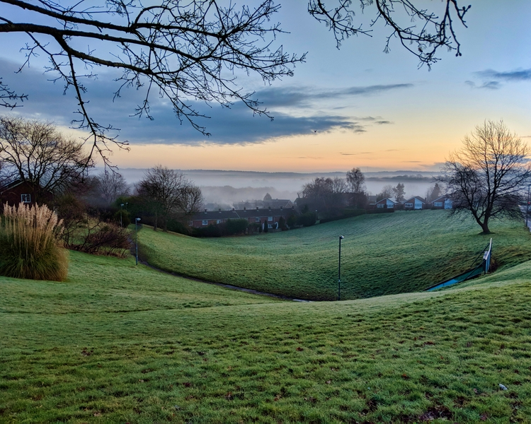 beautiful misty morning Sussex - darrencoleshill | ello