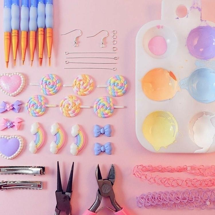 studio scenes - handmade, jewelry - bunnyandfawn | ello