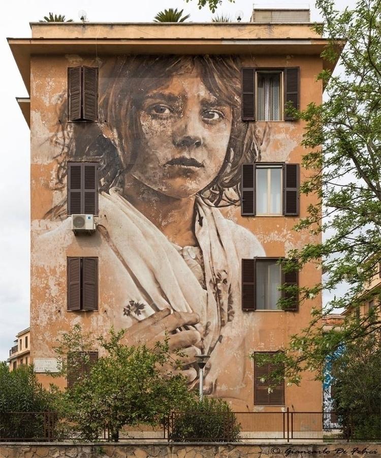 Artist?? Location: Rome, Italy - streetartunitedstates   ello