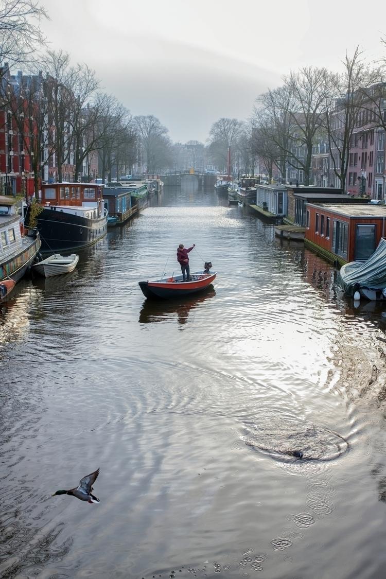 Amsterdam, Brouwersgracht - StreetPhotography - arnevanoosterom | ello