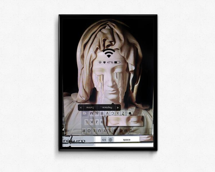 Women Glitch 2013 - digital, glitch - ivanatyler | ello