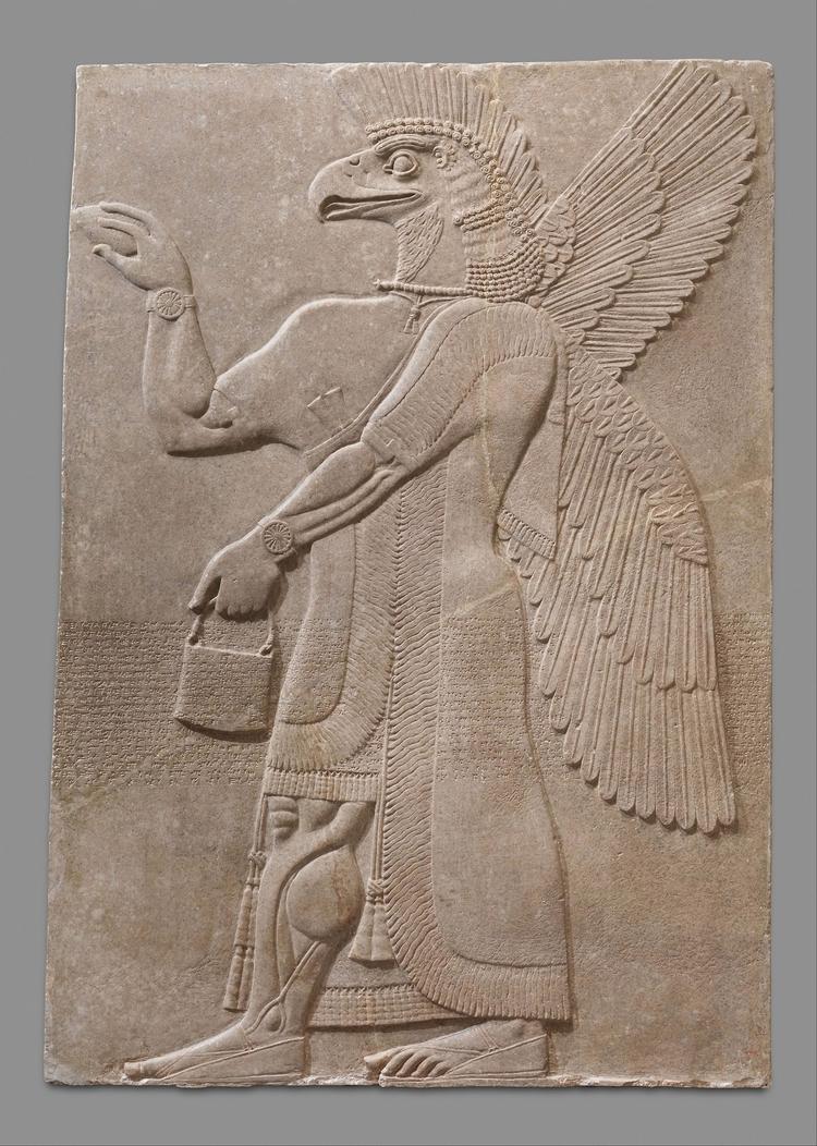 Assyrian relief palace Ashurnas - arthurboehm | ello