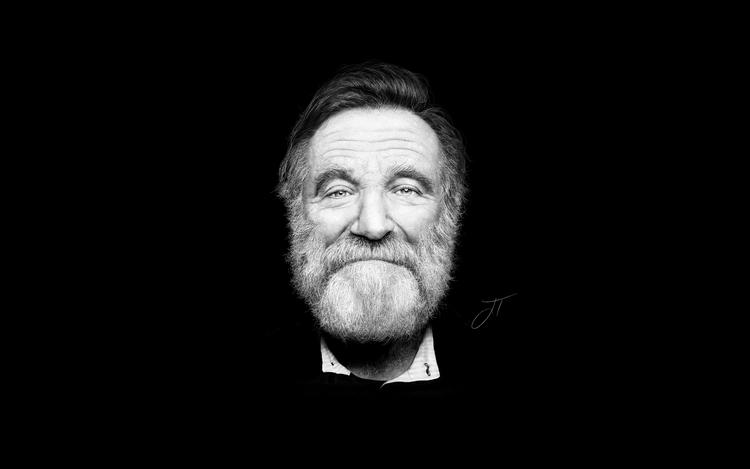 Robin Williams - Digital Illust - jtrojek | ello