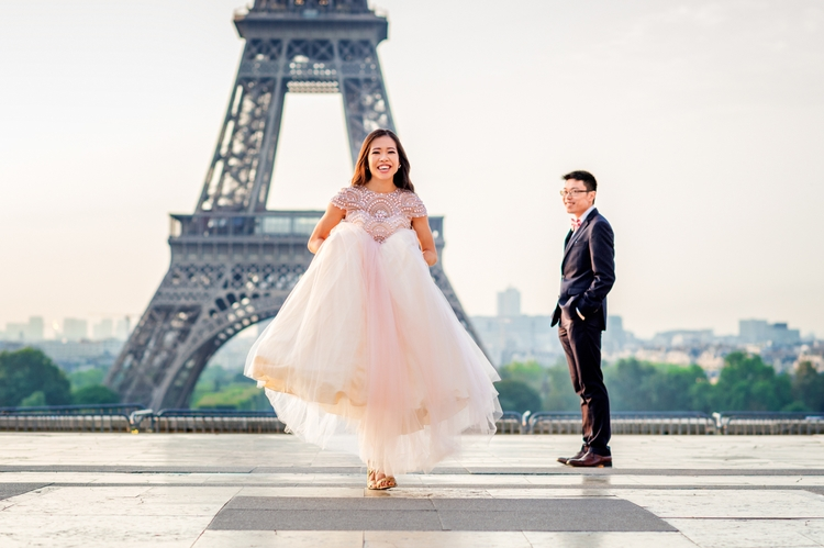 Love Trocadero Paris pre-weddin - samanthaohlsen | ello