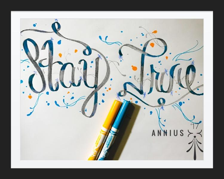 artistwork, typography, typographyart - annius18 | ello