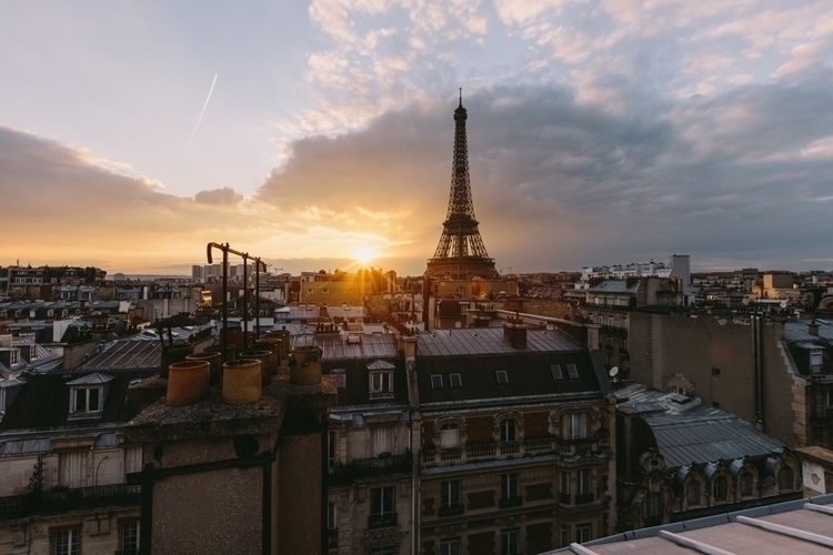 day Paris - Sunset - thomasfrs | ello