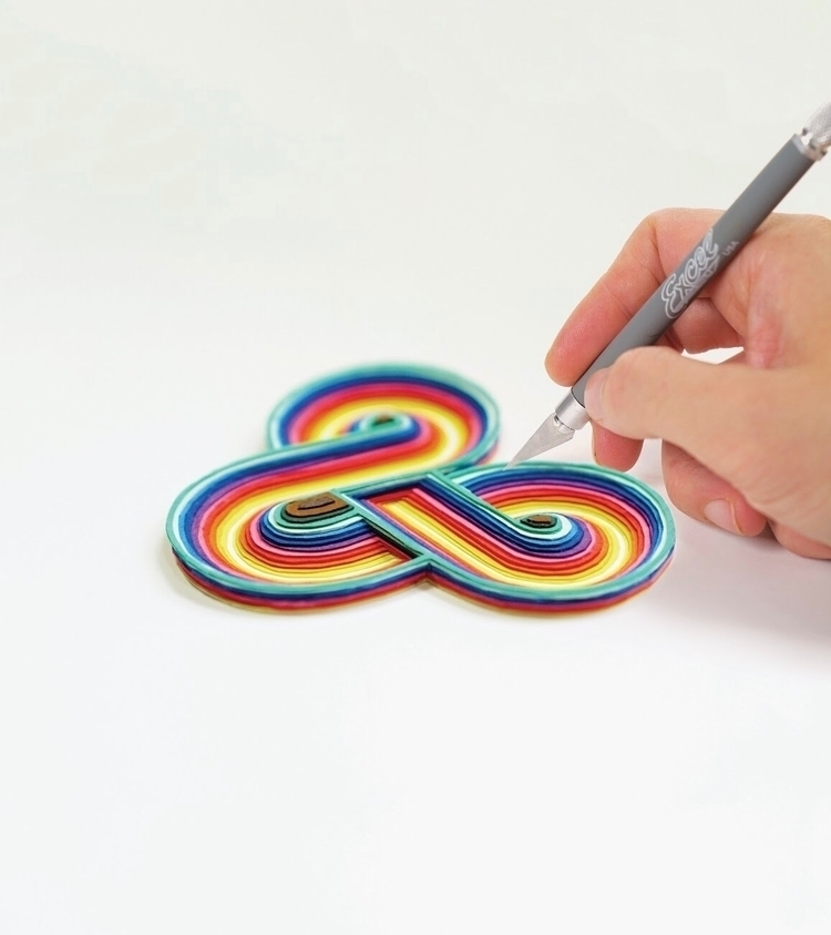 Infinity ampersand. papercut - e_known | ello