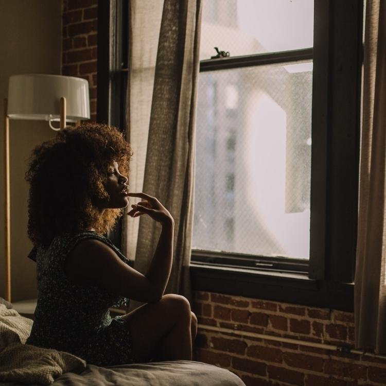 post. portrait LA Airbnb - selfportrait - genetjeanpierre | ello