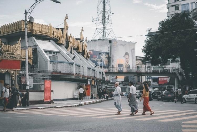 Nostalgically moody Rangoon - streetsofyangon - khz | ello