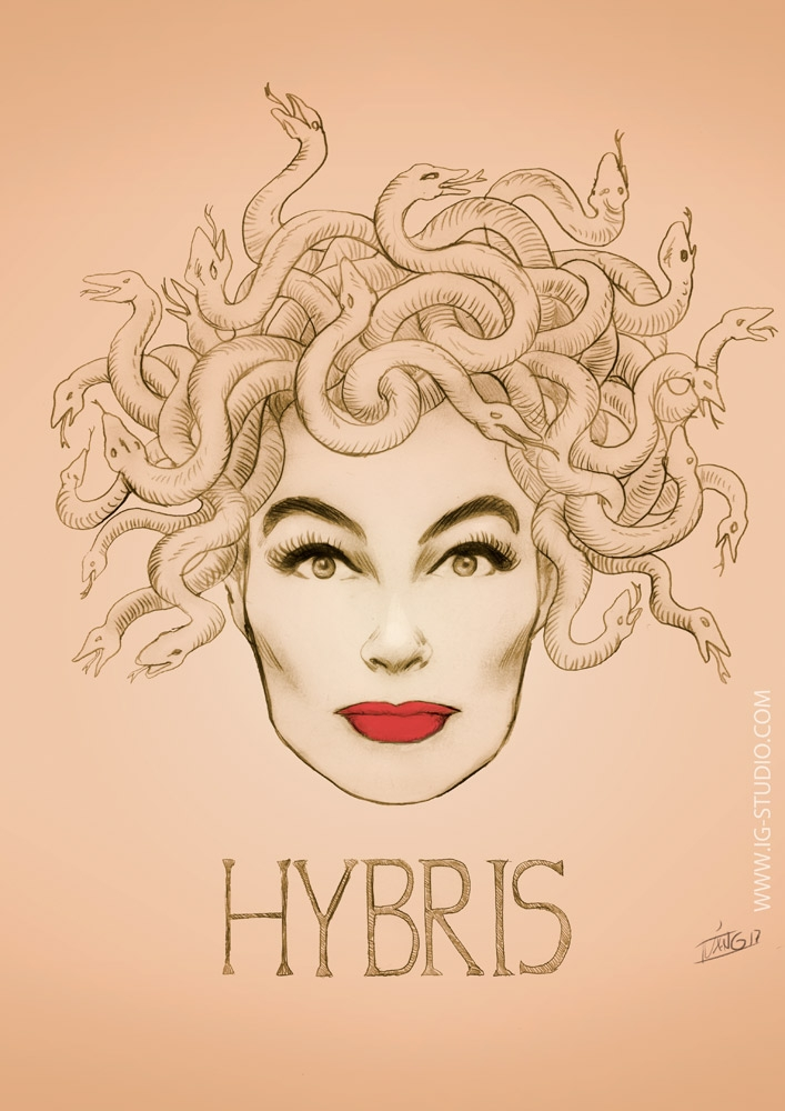 Joan Crawford Hybris. Pencils + - ivangart | ello