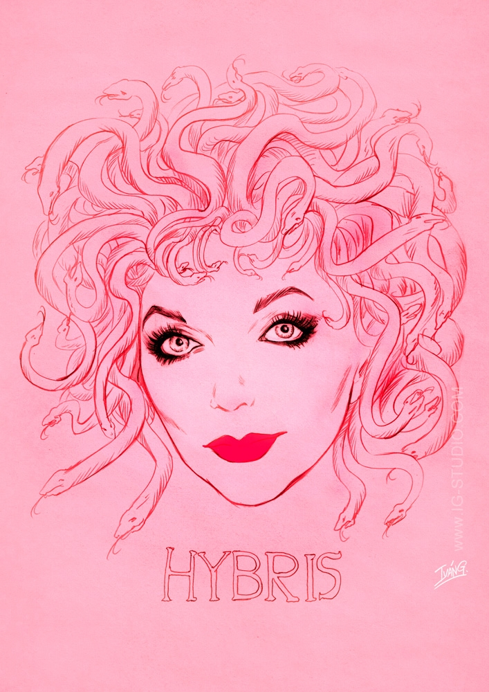 Joan Collins Hybris. Pencils +  - ivangart | ello