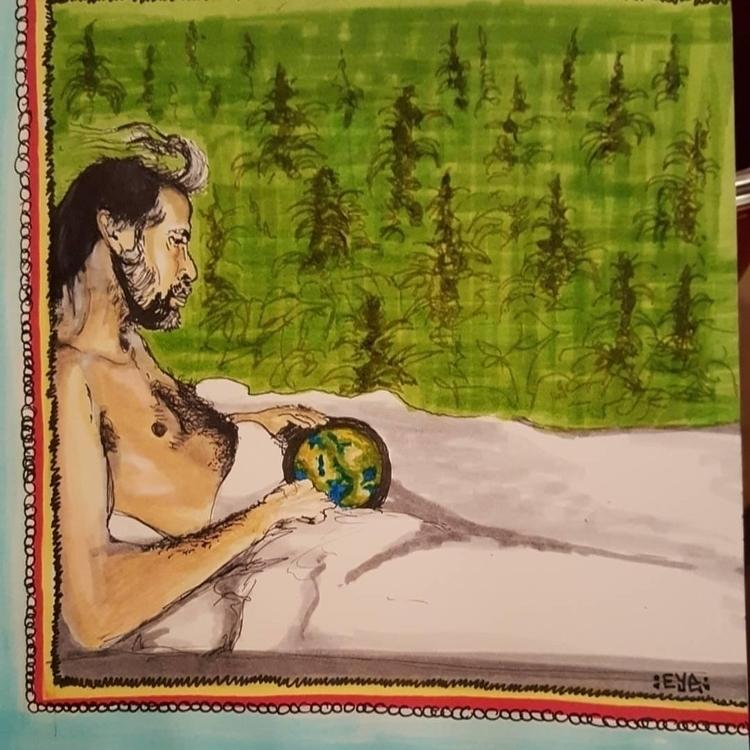 Bed World marker paper - openeyevibez | ello