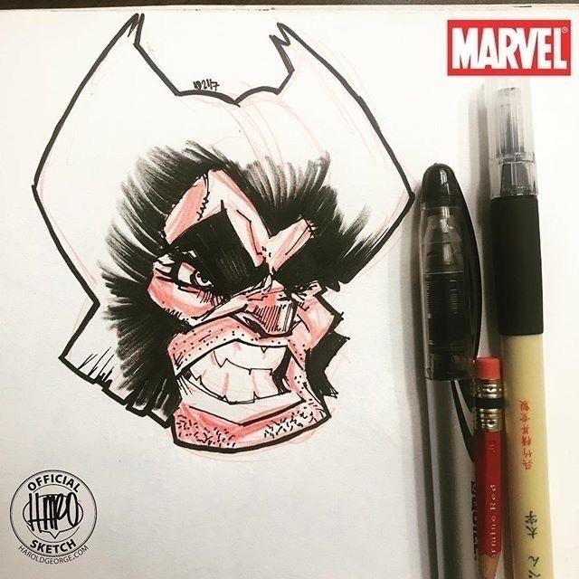 posted Instagram: Sketch Crazy  - haroartist   ello
