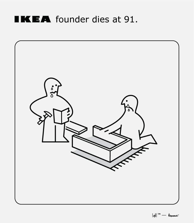 Billionaire IKEA founder Ingvar - dominicom | ello