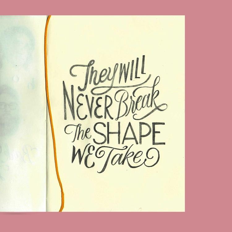Slip - NewOnEllo, Art, Lettering - jerold | ello