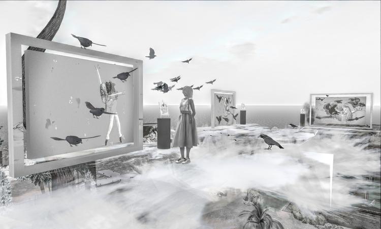 photos Confidence Crows exhibit - nimabenoir | ello