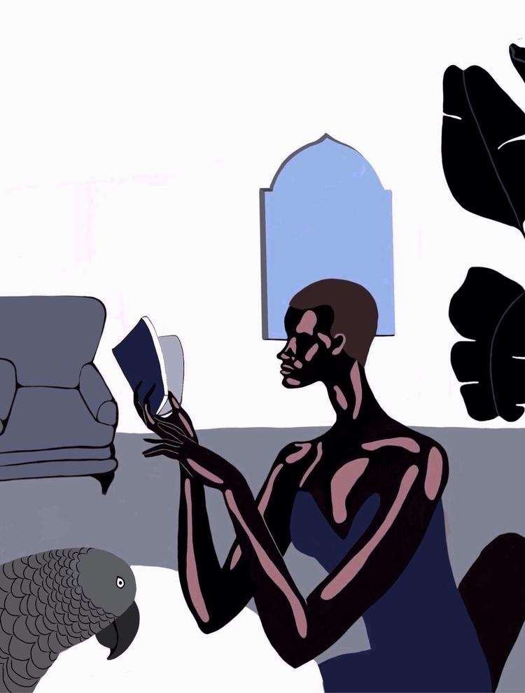 Work progress - art, illustration - jyxchen | ello