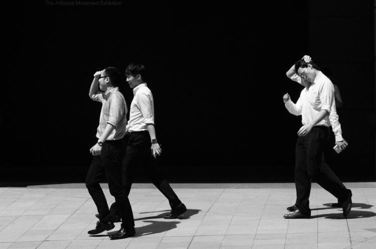 HongKong, CITY, BNW, STREETPHOTOGRAPHY - thcosward   ello