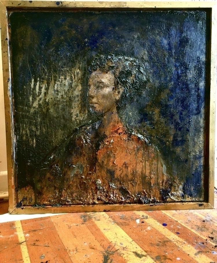 oil, painting, fineart, studio - erikcastellanos | ello