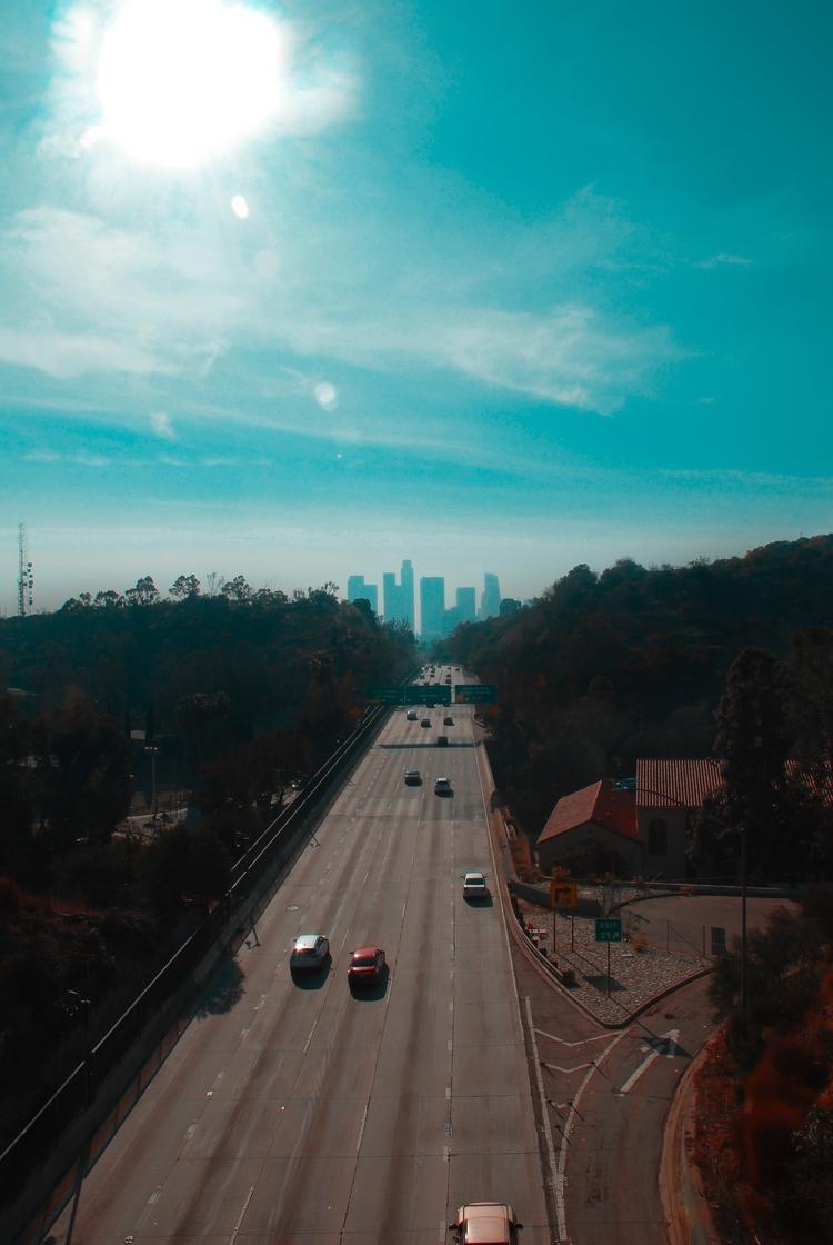 Los Angeles river, 110 Freeway - kingjesspine | ello