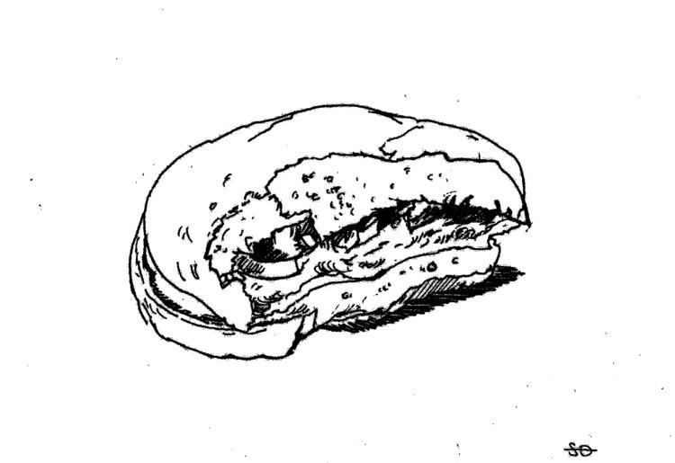 Burger Shanghai McDonalds eaten - sashanikitina | ello