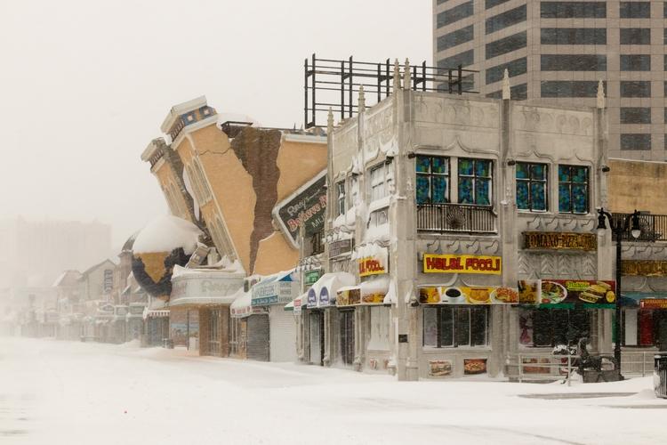 Atlantic City blizzard 2018 - richards21 | ello