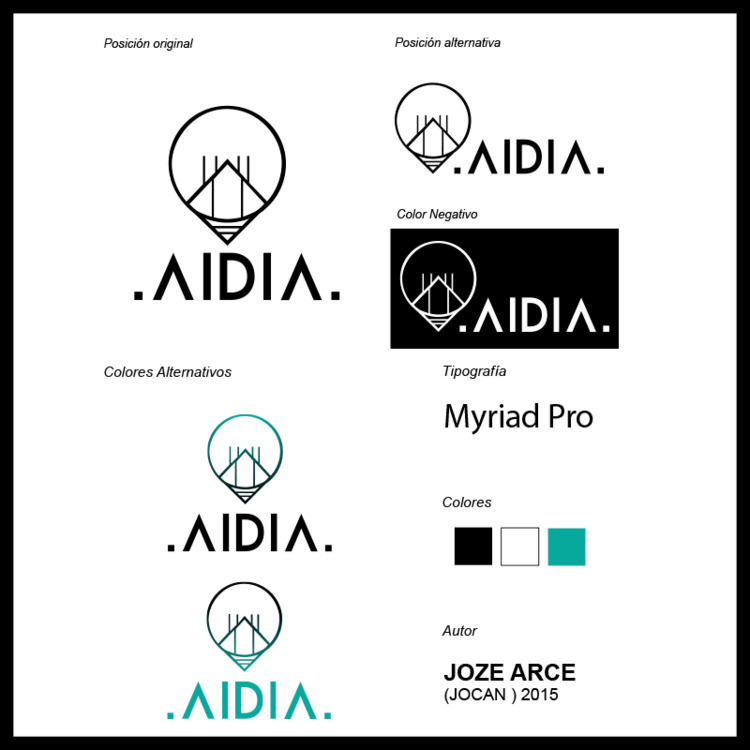 AIDIA (Logo Design) 2015 - MexicoCity - jocandeka | ello
