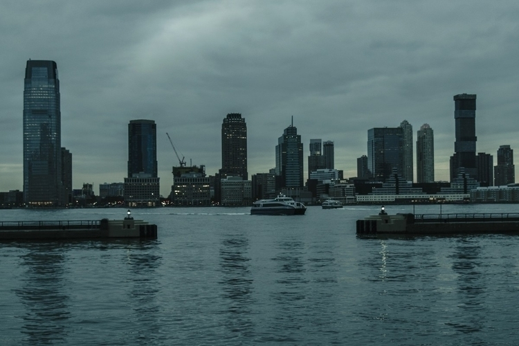 Ferries twilight NYC photograph - iangarrickmason | ello
