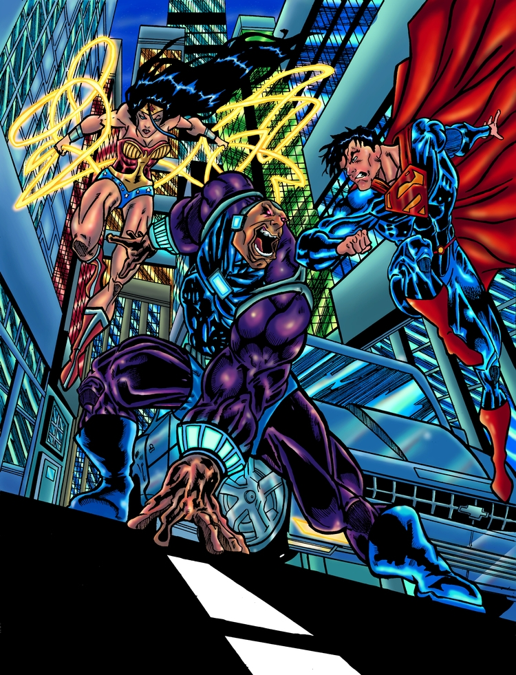 Wonderwomen/Superman Mongul fin - ehernand1 | ello