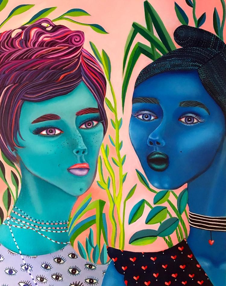Lisa Teresa | 30 24 Acrylic can - ikrstudio | ello