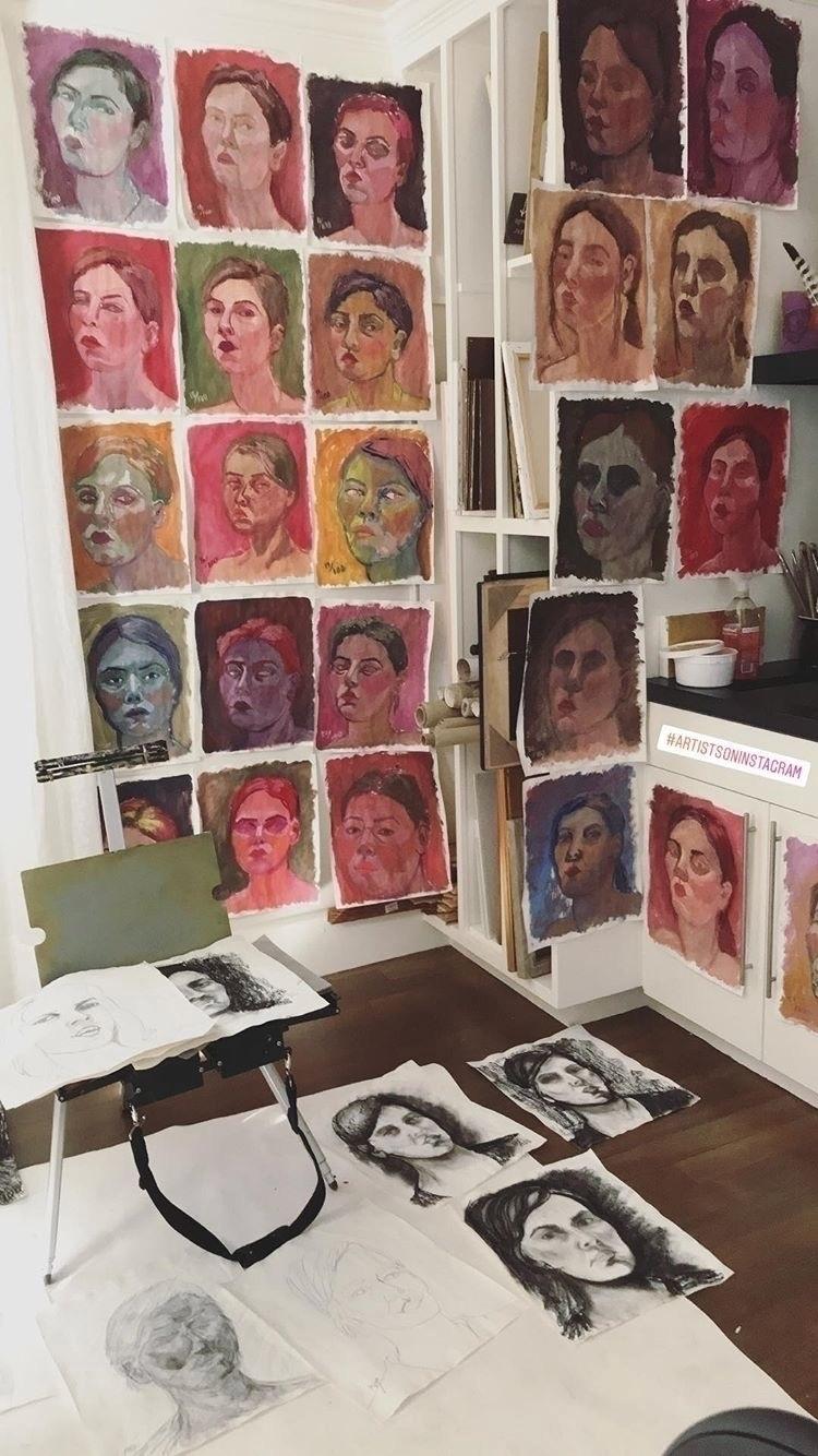 Peek 100 15 minute portraits - studio - jamieluoto | ello
