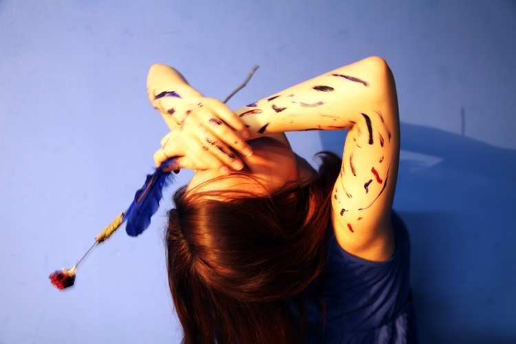 Title blue bird Medium Photogra - spaceforj | ello