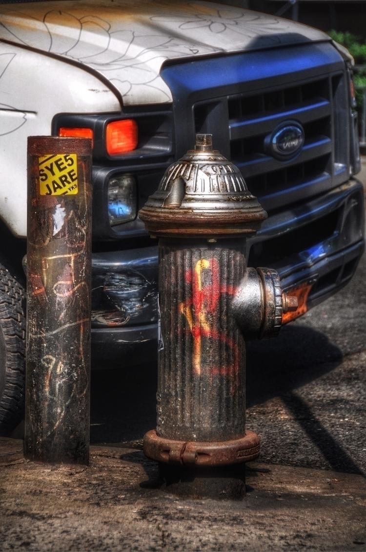 "Hydrants: USA, ""Ford - flowers - madap   ello"