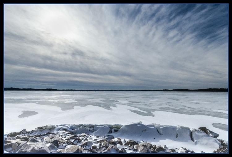January! Lake Waubesa, Yahara R - netagra | ello