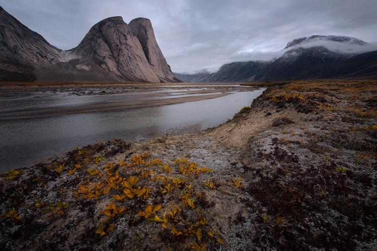 Arctic, Baffin Island precise.  - skyfolk | ello