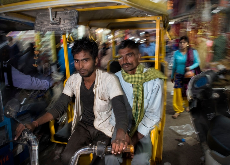 Night Rickshaw - electric, rickshaw - mukulphoto | ello