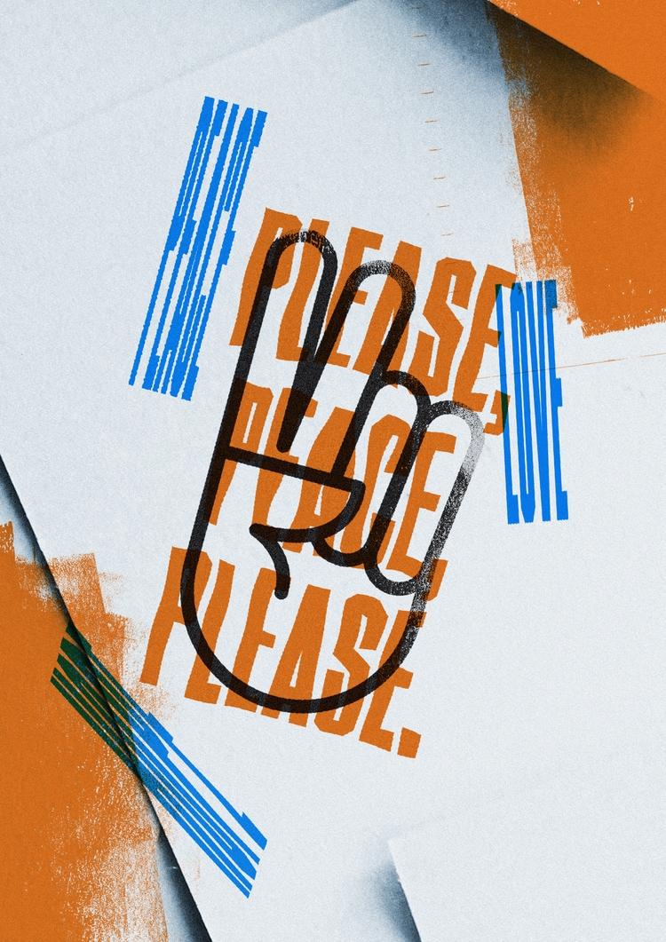 plea peace - poster, design, texture - adamho | ello