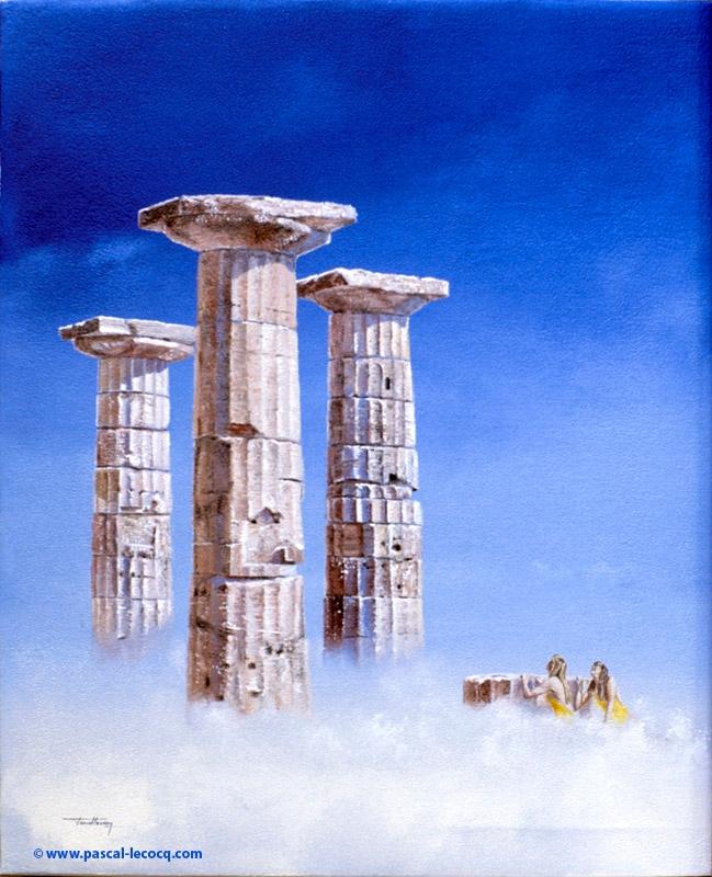 COLONNS DE ZEUS - Zeus column  - bluepainter | ello