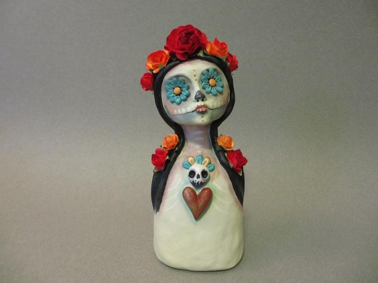 Daisy Eyes --- Day Dead Art dol - amberleilani | ello