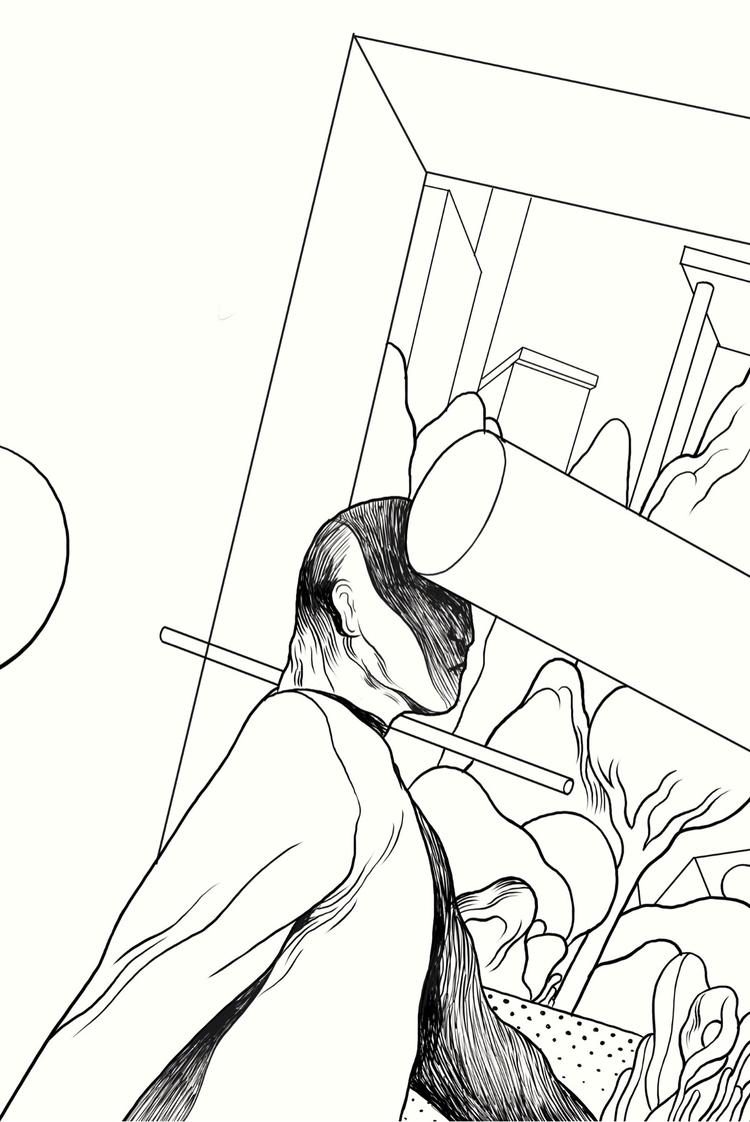 Work progress. Clip Studio iPad - runefisker | ello