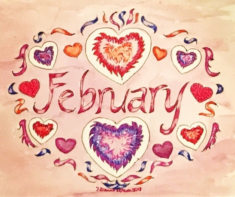 Happy February - jdiannedotson | ello