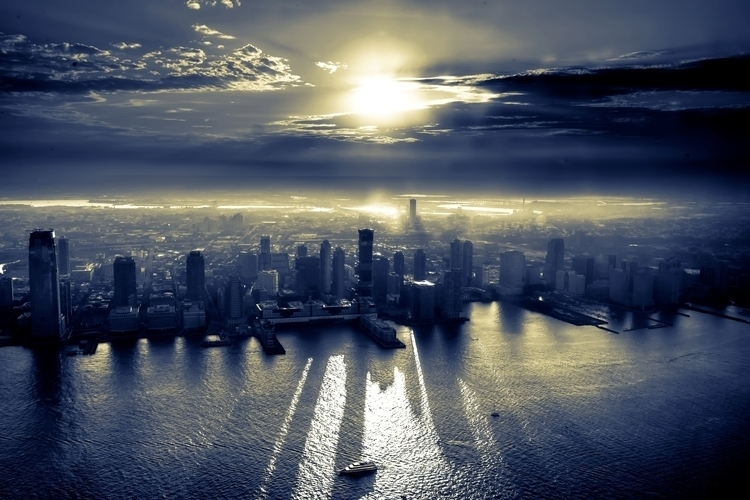 nj#skyline, newjersey, jc, jerseycity - hoovertung | ello