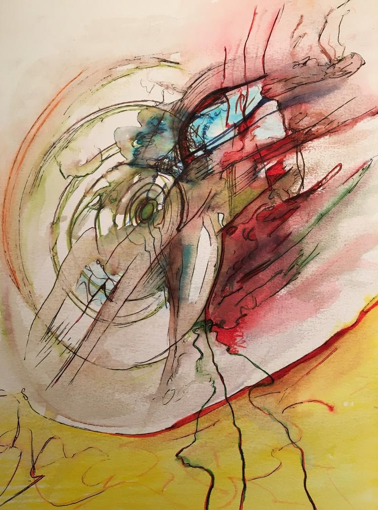 Untitled 371. 11 15 Watercolor - drake94952 | ello