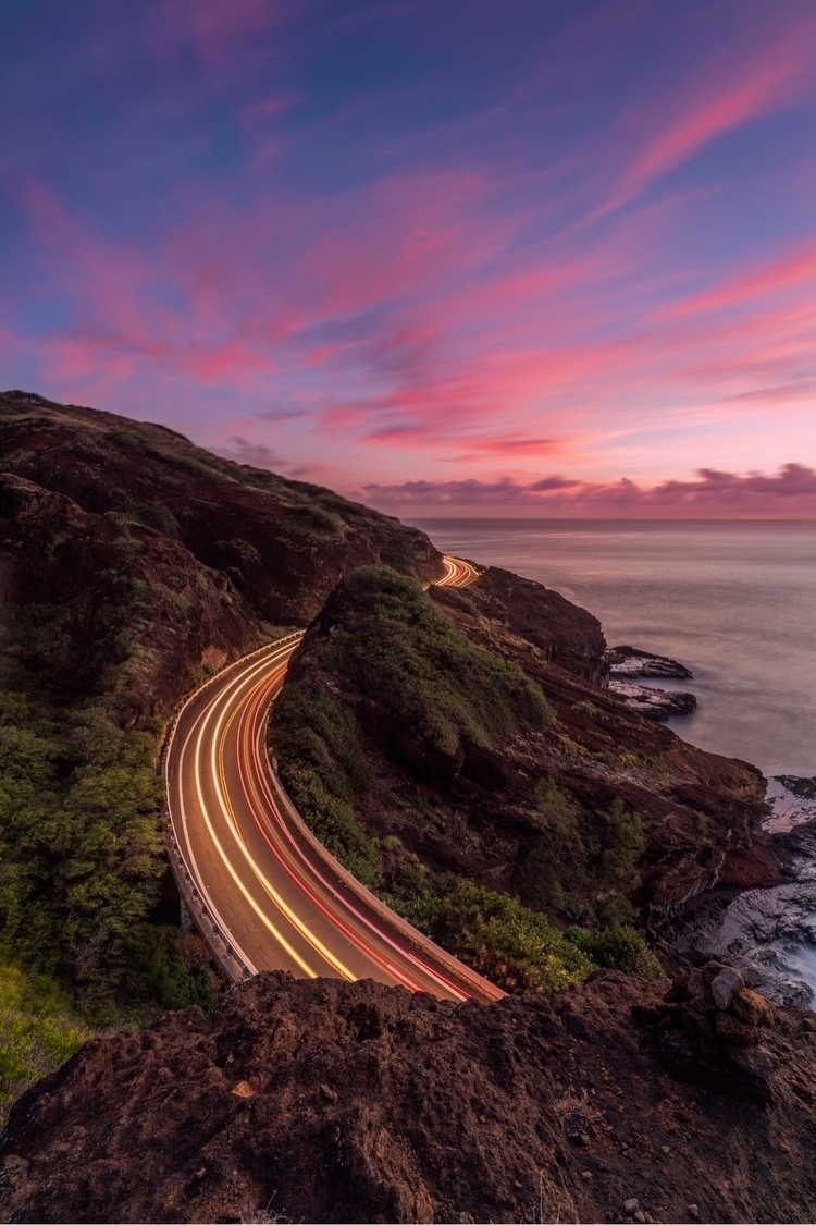 Trailing sunrise Oahu - oahu, hawaii - lvm1na | ello